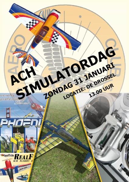 Simulatordag | Aero Club Heemskerk
